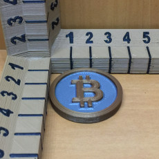 Picture of print of Bitcoin