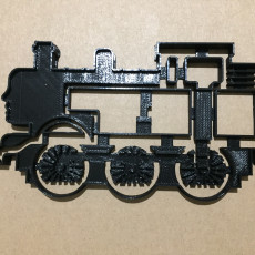 Picture of print of Detailed Thomas the Tank Engine Cookie Cutter