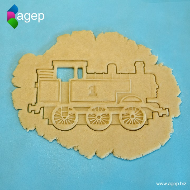 Detailed Thomas the Tank Engine Cookie Cutter