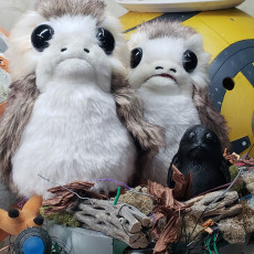 Picture of print of Porg - Star Wars The Last Jedi Questa stampa è stata caricata da Adam Stype