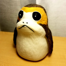 Picture of print of Porg - Star Wars The Last Jedi Questa stampa è stata caricata da Junior General