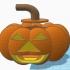 Jack-O-Lantern candy dispenser for design contest image