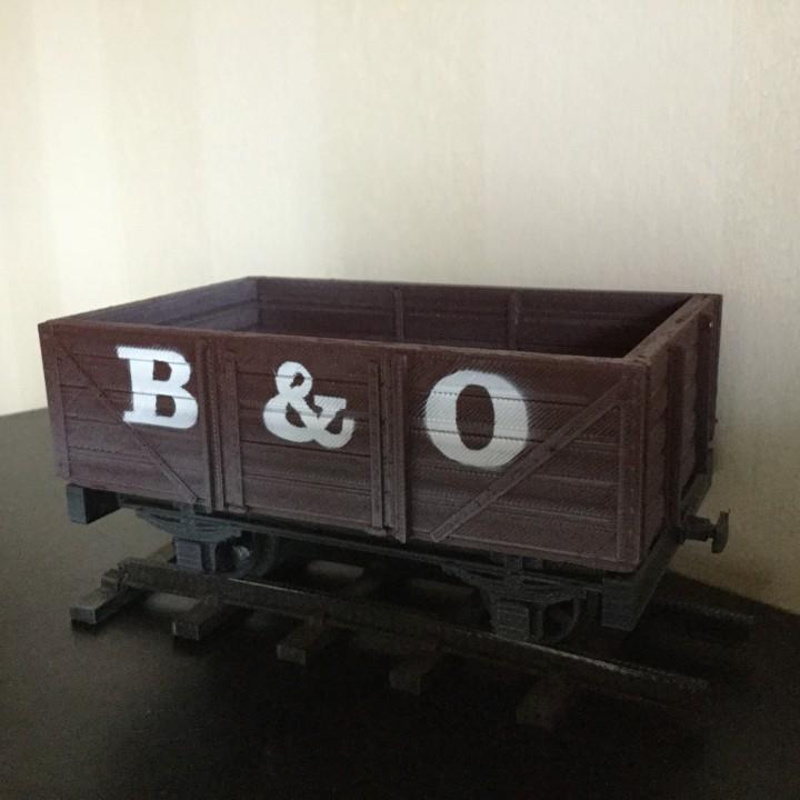 5 Plank Open Wagon for 16mm Scale Garden Railway