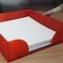 Desk note paper holder (including pen stand) image