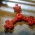 Cross fidget spinner image