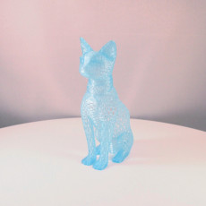Picture of print of Cat design Voronoi This print has been uploaded by Erwin Boxen