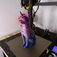 Picture of print of Cat design Voronoi This print has been uploaded by Daniel