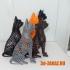 Cat design Voronoi image