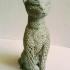 Cat design Voronoi print image