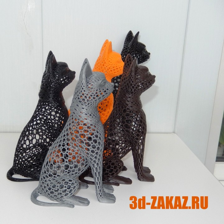 Cat design Voronoi