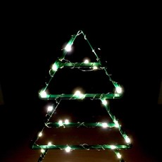 Picture of print of Wireframe Xmas Tree