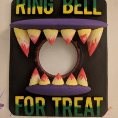 Picture of print of Ring Bell For Treat