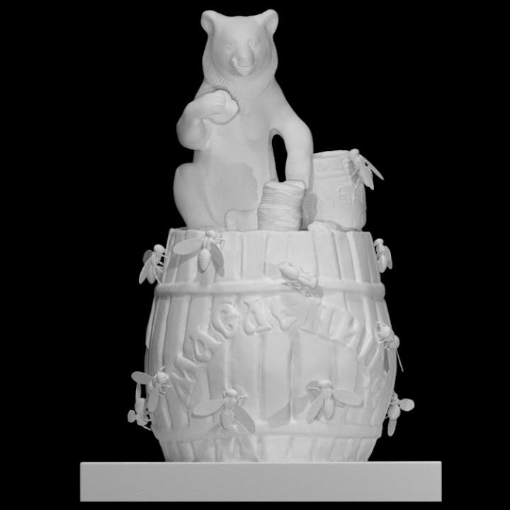 Bear on a Barrel