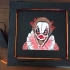 Scary clown board image