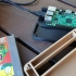 NES cartridge holder raspberry pi 3 case. image