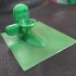 Tombstone Zombie candy holder for TinkerCAD design contest image