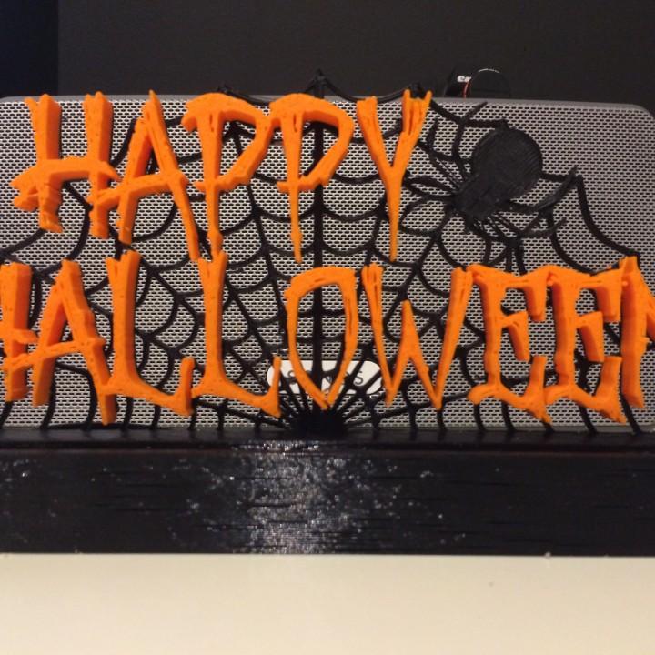 Breda Halloween.3d Printable Happy Halloween By Ronny Van Breda