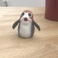 Picture of print of Screaming Porg - Star Wars The Last Jedi Dieser Druck wurde hochgeladen von Joy Hungwe