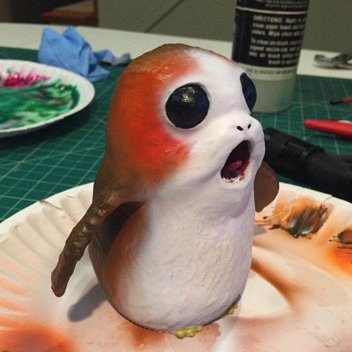 Picture of print of Screaming Porg - Star Wars The Last Jedi This print has been uploaded by Joel Montgomery