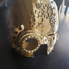 Picture of print of Steampunk Halloween Mask