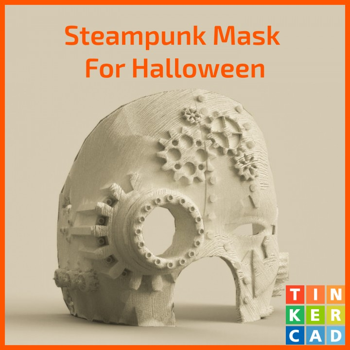 Steampunk Halloween Mask