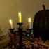 Creepy Candle Stick Display image