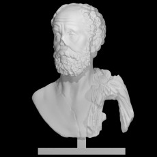 Bust of an unknown philosopher