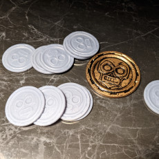 Picture of print of Aztec Coin Token