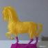 Horse print image