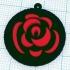 Rose Necklace Charm image