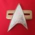 Star Trek Voyager Combadge image