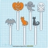 HALLOWEEN CABLE HOLDER / BOOKMARKS image