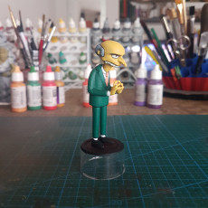 Picture of print of Mr. Burns 3D