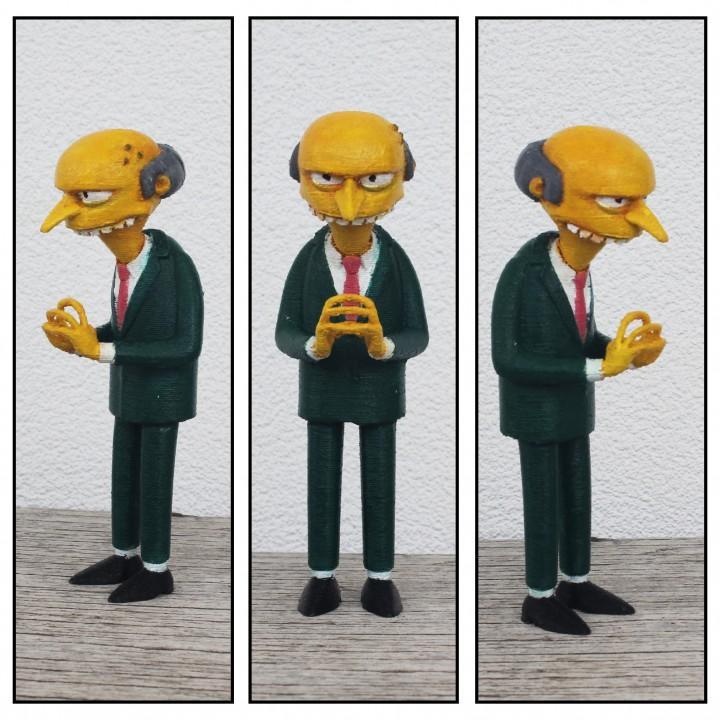 Mr. Burns 3D