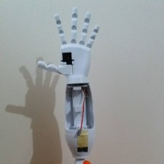 Picture of print of Humanoid Robotic Torso PROTO1 This print has been uploaded by Kaan Ayaz