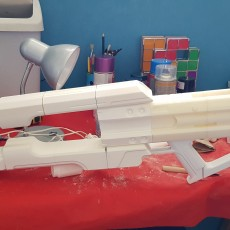Picture of print of Coldheart Destiny 2 Trace Rifle