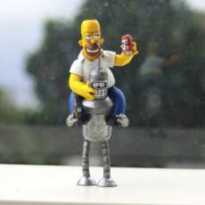 Homer+Bender 3D