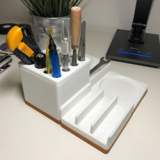Picture of print of Modular Desk Organizer
