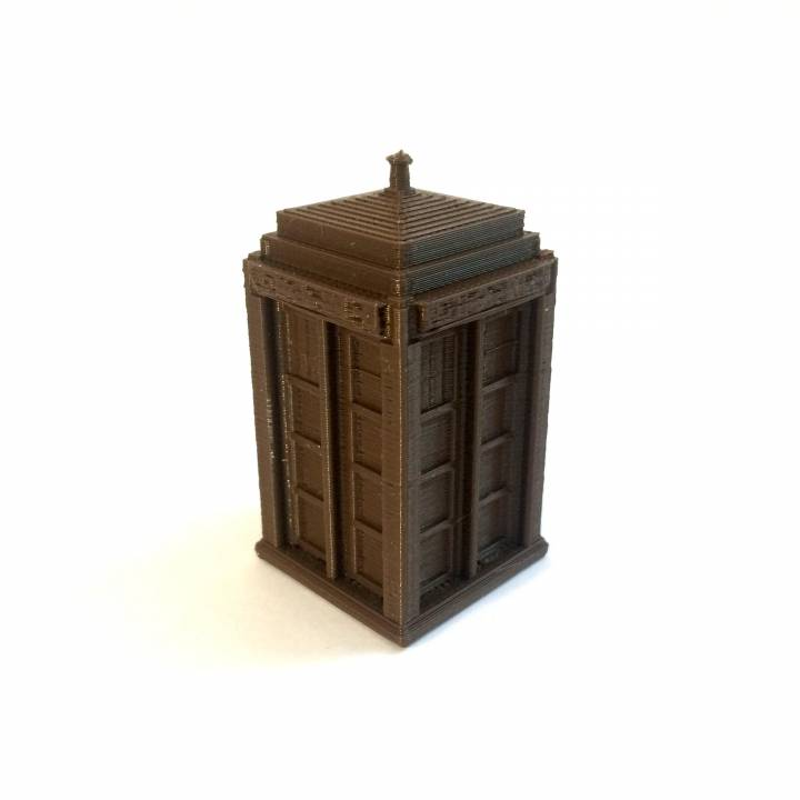 picture regarding Tardis Printable known as 3D Printable TARDIS versus Medical professional Who via Faris Siddiqui