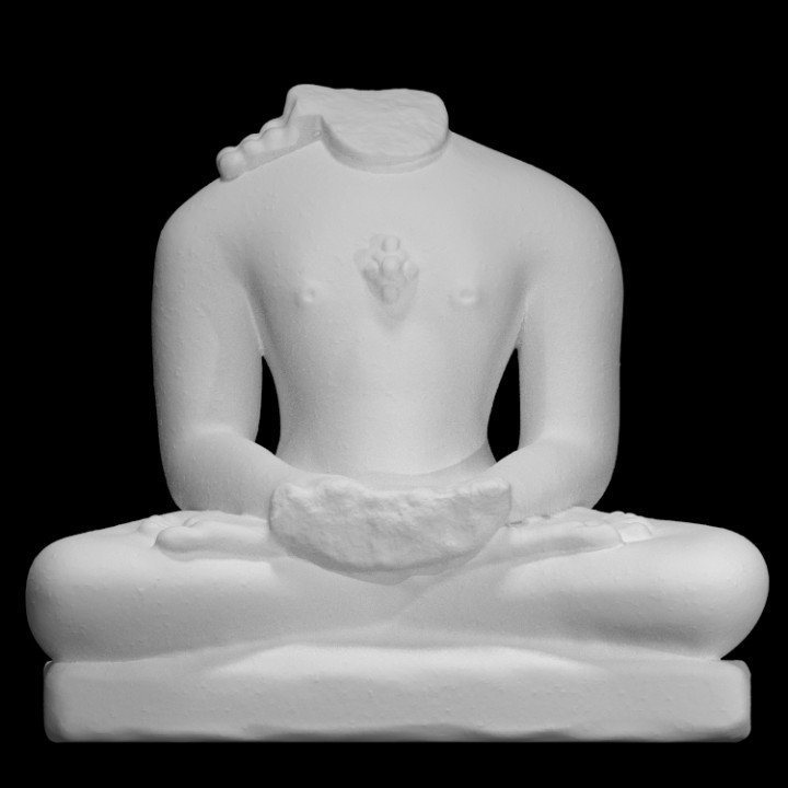3d Printable Sri Mahavir By Scan The World
