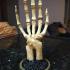Skeletal Hand stand print image