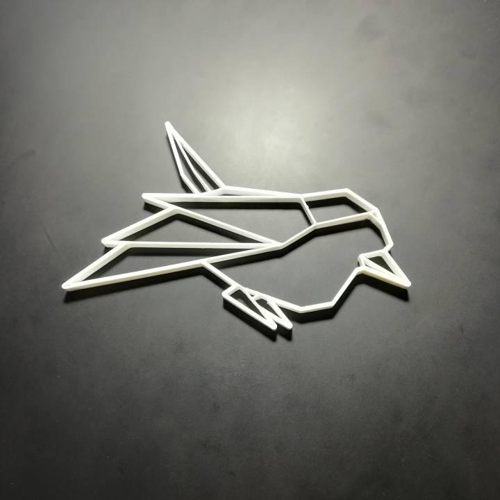Customizable Origami Sparrow