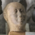 Sandstone head of a Man image