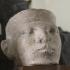 Limestone head of a King image