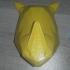 rhino head low poly image