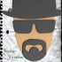 Heisemberg (Breaking Bad) Bookmark image