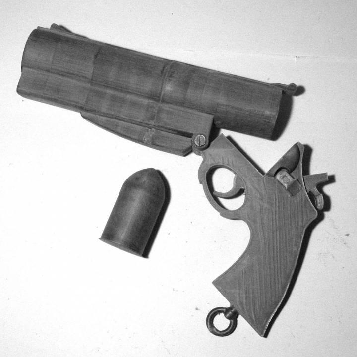 Hellboy COMIC sidearm