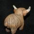 Highland Cow print image
