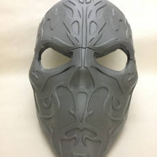 Picture of print of Cursed Skull Mask