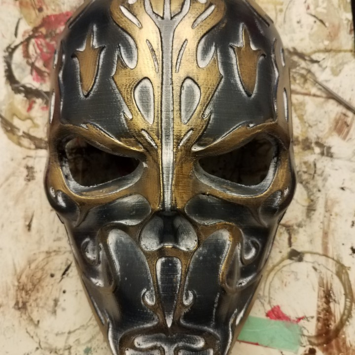 Cursed Skull Mask